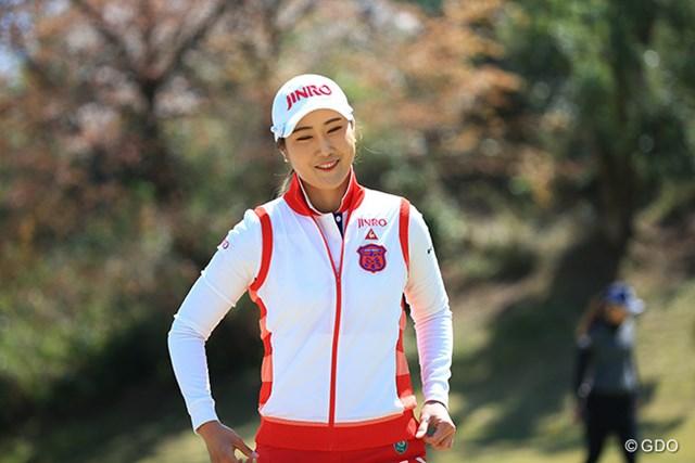 2016年 アクサレディスゴルフトーナメント in MIYAZAKI 2日目 キム・ハヌル 3試合連続の単独首位で最終日を迎えるキム・ハヌル。三度目の正直なるか?