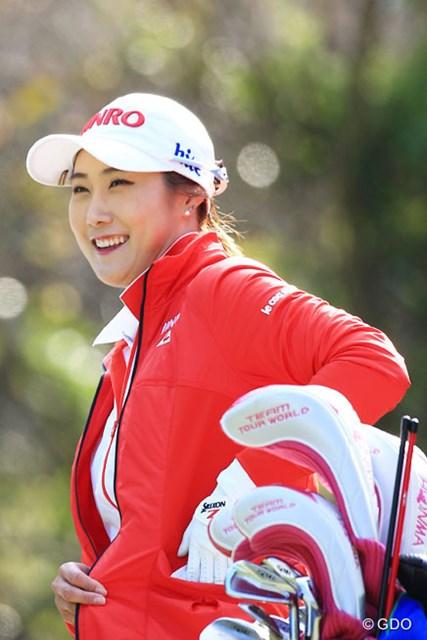 2016年 アクサレディスゴルフトーナメント in MIYAZAKI 2日目 キム・ハヌル 史上初の3週連続、単独首位で最終日を迎えるキム・ハヌル