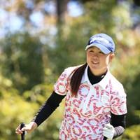 時には笑顔も・・・ 2016年 アクサレディスゴルフトーナメント in MIYAZAKI 2日目 保坂真由