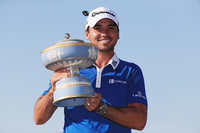 決勝戦も完勝し、2度目の大会制覇を遂げたJ.デイ(Tom Pennington/Getty Images)