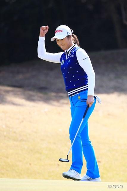 2016年 アクサレディスゴルフトーナメント in MIYAZAKI 最終日 キム・ハヌル パター変更が奏功し、キム・ハヌルが三度目の正直で優勝を手にした