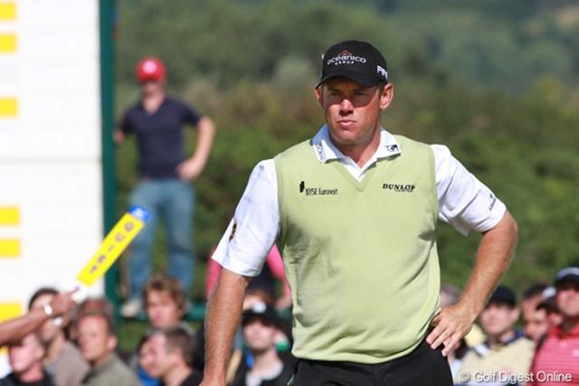 2009年 全英オープン最終日 リー・ウェストウッド またしても、あと1打足りなかった。