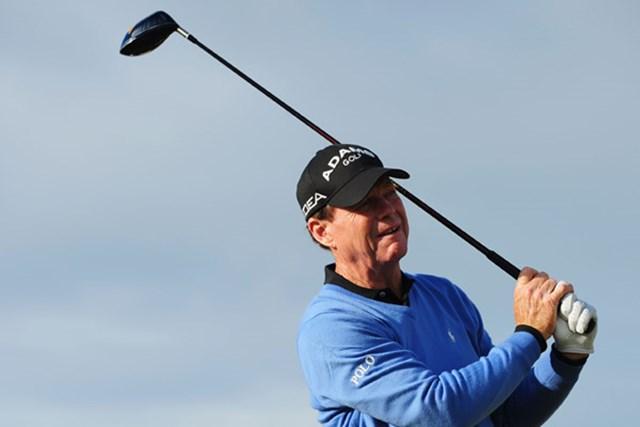 2009年 全英シニアオープン 事前 トム・ワトソン 「全英」で2位に終わったトム・ワトソンが今度は「全英シニア」に登場する(Stuart Franklin/Getty Images)