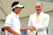 2009年 長嶋茂雄 INVITATIONAL セガサミーカップゴルフトーナメント 事前 石川遼&長嶋茂雄