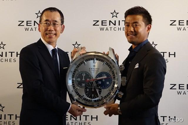 2016年 小平智 ZENITHとアンバサダー契約を結んだ小平智