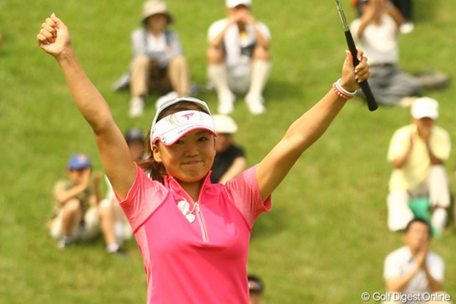2009年 エビアンマスターズ 事前 有村智恵 好調の有村智恵が日本に続き米ツアーとの2週連続優勝を目指す