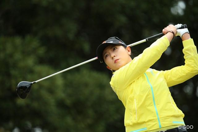 日本ツアー2戦目の出場で優勝に王手をかけたユン・チェヨン