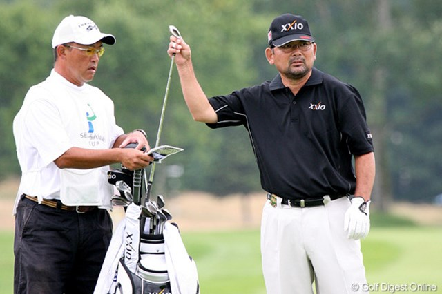 2009年 長嶋茂雄 INVITATIONAL セガサミーカップゴルフトーナメント 初日 中嶋常幸 ワトソンのプレーは、中嶋に少なからず影響を与えたはず
