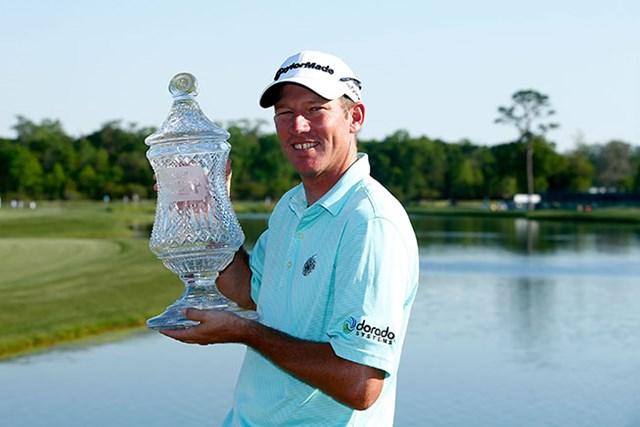ジム・ハーマンがツアー初優勝を果たした(Scott Halleran/Getty Images)