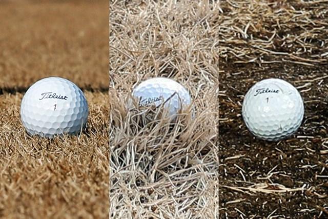 硬いグリーン 「スピンで止める」or「高さで止める」、どっち? (画像3枚目) 「特に冬~春先の芝は、一辺倒な打ち方では×」(牧野プロ)
