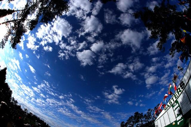 オーガスタの空(Kevin C. Cox/Getty Images)