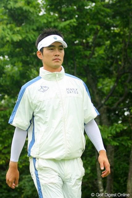 2009年 長嶋茂雄 INVITATIONAL セガサミーカップゴルフトーナメント 3日目 金亨成 12位タイから2位タイへ浮上を果たした金亨成