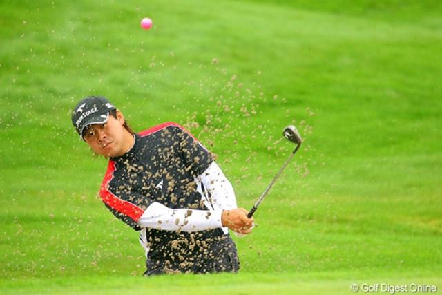 2009年 長嶋茂雄 INVITATIONAL セガサミーカップゴルフトーナメント 3日目 津曲泰弦 ツアー屈指の飛ばし屋、津曲泰弦が6位タイで最終日へ。4打差を追う