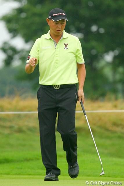 2009年 長嶋茂雄 INVITATIONAL セガサミーカップゴルフトーナメント 3日目 谷口徹 谷口徹が9位タイに再浮上。5打差から逆転勝利に挑む