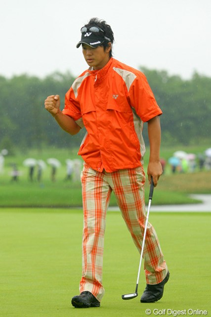2009年 長嶋茂雄 INVITATIONAL セガサミーカップゴルフトーナメント 3日目 石川遼 バーディを量産した石川遼。スタートホールでバーディを奪い、一気に流れに乗った