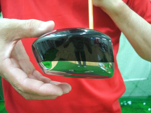 マーク金井の試打IP フォーティーン JC-808 ドライバー 2008年 No.4 ハイバック形状のヘッドは、右肩が必要以上に下がるのを防止してくれる