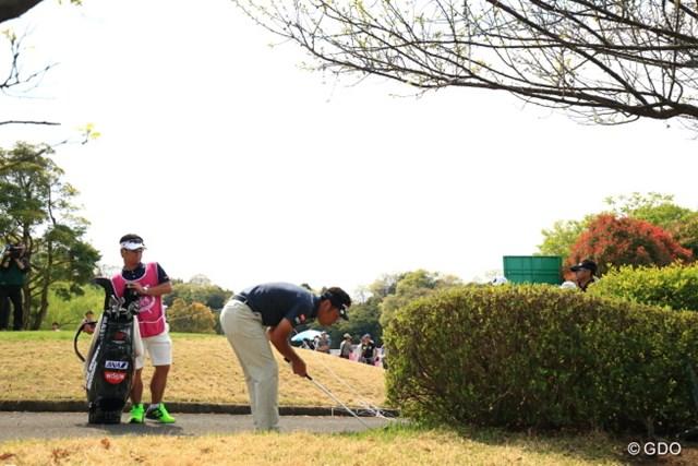 2016年 東建ホームメイトカップ 3日目 池田勇太 とてもヤバい状況になった勇太。