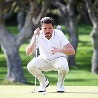 最終日を首位で迎えるミシェル・ロレンゾベラ(Matthew Lewis/Getty Images) 2016年 スペインオープン 3日目 ミシェル・ロレンゾベラ