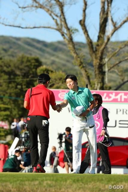 2016年 東建ホームメイトカップ 最終日 キム・キョンテ 日本に来て9年目。昨季の賞金王も多くの日本人と同じ気持ちだ