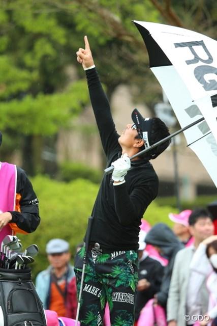 2016年 東建ホームメイトカップ 最終日 矢野東 あ!鳥だ!飛行機だ!タケチャンマンだ!、、って古いだろ。