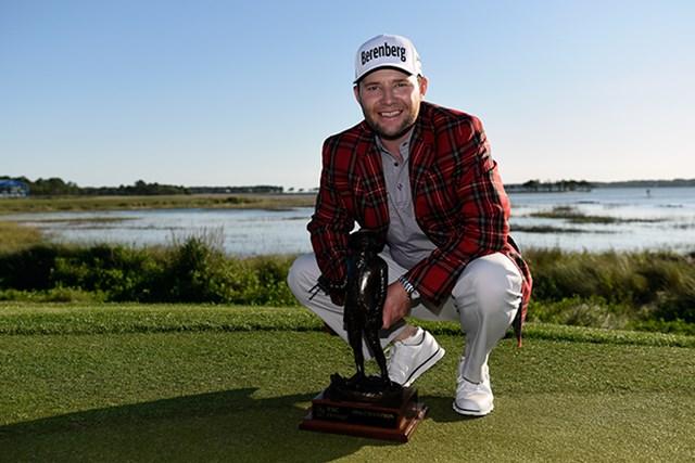 南アフリカのブランデン・グレースが米ツアー初優勝を飾った(Jared C. Tilton/Getty Images)