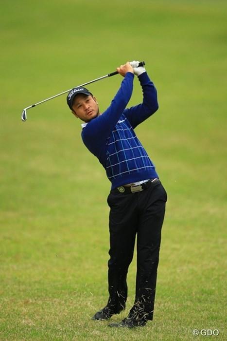 日本人選手ですが、アジアンツアーの枠で日本ツアー初参戦です 2016年 パナソニックオープンゴルフチャンピオンシップ 初日 高橋賢