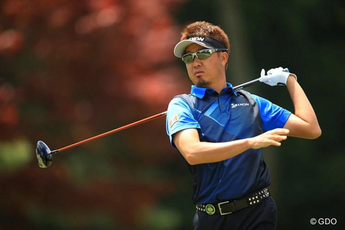 ショットが乱れたのでしょうか・・・まさかの逆噴射で27位タイに後退 2016年 パナソニックオープンゴルフチャンピオンシップ 2日目 星野英正