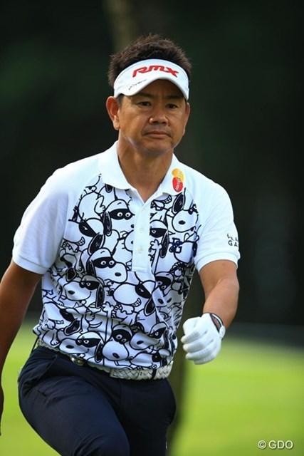2016年 パナソニックオープンゴルフチャンピオンシップ 2日目 藤田寛之 104位で残念ながら予選落ちという結果に。それにしても40歳を越えて、なかなかスヌーピーを着こなせる人はいませんよね