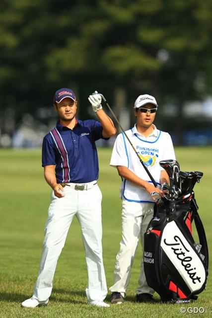 2016年 パナソニックオープンゴルフチャンピオンシップ 2日目 高橋賢 日本のレギュラーツアー初出場で予選通過を決めた高橋賢