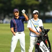 日本のレギュラーツアー初出場で予選通過を決めた高橋賢 2016年 パナソニックオープンゴルフチャンピオンシップ 2日目 高橋賢
