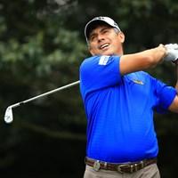 ブラジル代表争いをリードするA.シルバ。腰を痛めながらも予選通過を決めた 2016年 パナソニックオープンゴルフチャンピオンシップ 2日目 アジウソン・ダ・シルバ