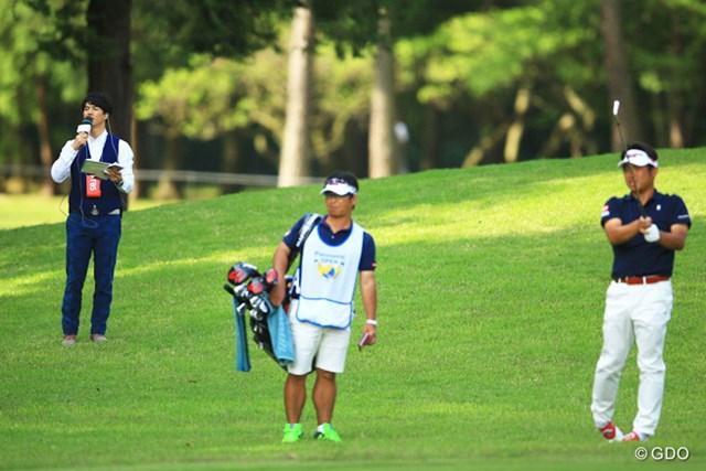 2016年 パナソニックオープンゴルフチャンピオンシップ 最終日 石川遼 池田勇太 ラウンドリポーターを務めた石川遼に密着された池田勇太の反応は・・・?