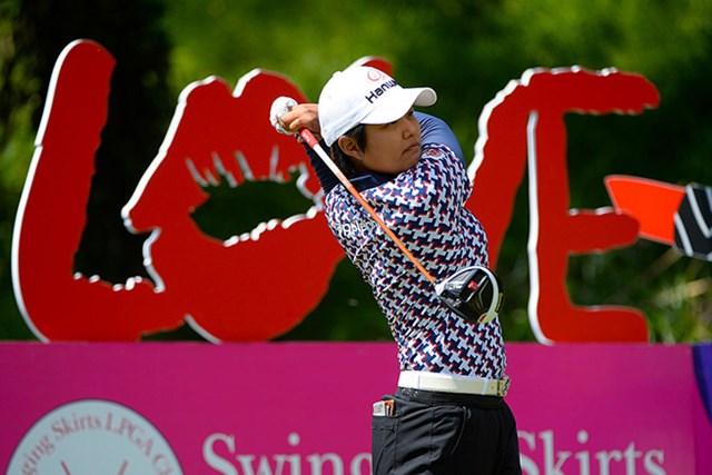 2勝目を狙う野村敏京は序盤にリードを広げた(Robert Laberge/Getty Images)