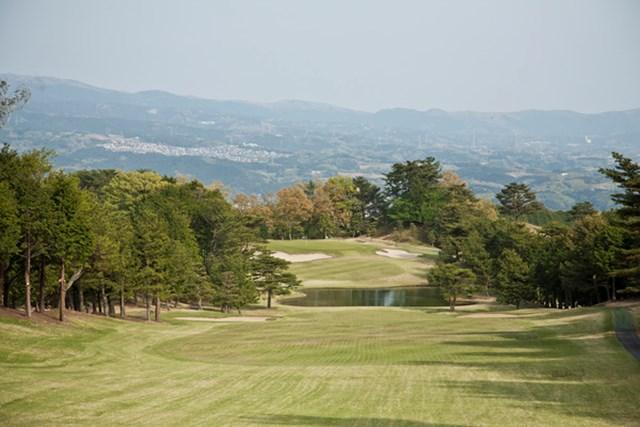 トーナメントコースでもある東名カントリークラブ。晴れている日は富士山を見ることができるぞ