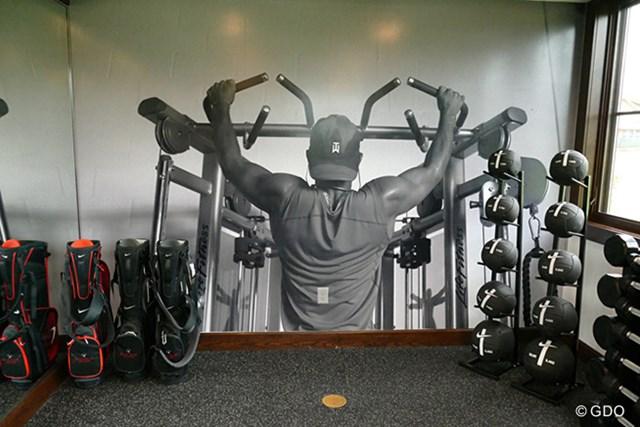 2016年 事前 トレーニングルーム この写真を見ながらトレーニングに励む