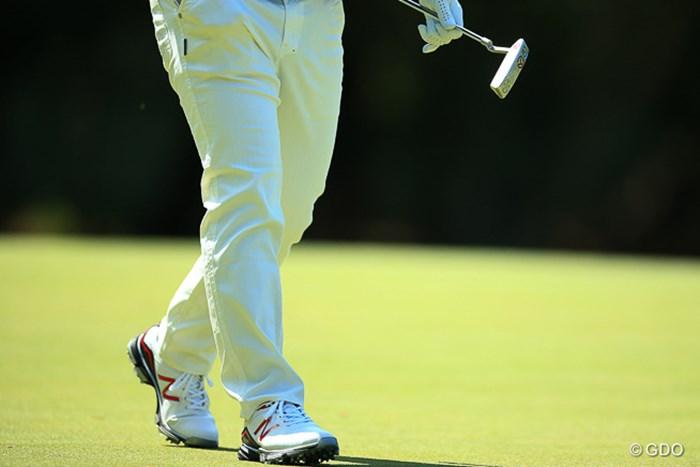 今日のNBのゴルフシューズはこちら! 2016年 中日クラウンズ 2日目 藤田寛之