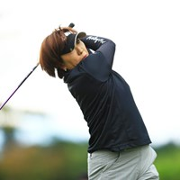 妹・福嶋浩子の相談に乗る良き姉 2016年 サイバーエージェント レディスゴルフトーナメント 初日 福嶋晃子