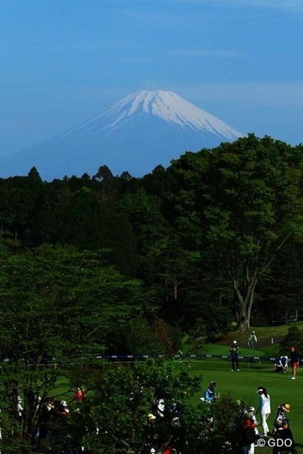 今日も富士山が見えたのは、朝早くだけでしたね。