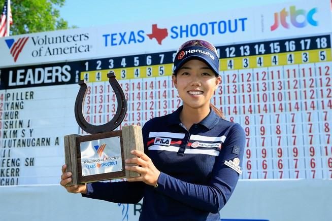 ジェニー・シンが韓国勢の争いを制してツアー初優勝