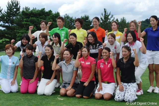 今年も22人の新人女子プロゴルファーが誕生した