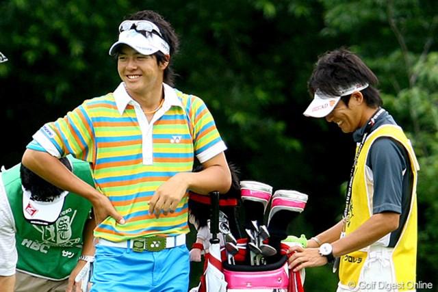 「これ以上ない快心のゴルフだった」と振り返った石川遼
