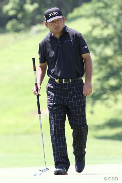 2016年 関西オープンゴルフ選手権競技 事前 中嶋常幸 「中日クラウンズ」の欠場から3週間。中嶋常幸が今季初戦を迎える