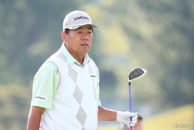 2016年 関西オープンゴルフ選手権競技 初日 室田淳 さすが鉄人、堂々の3アンダー発進