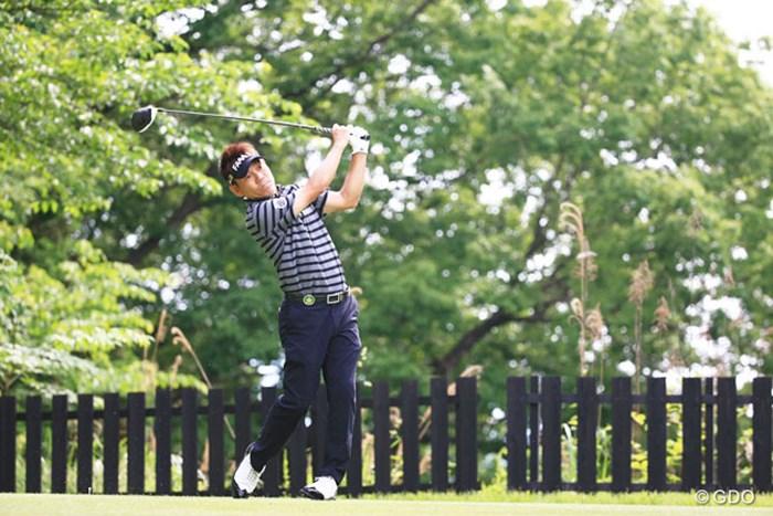 14番のミスが痛かったかな 2016年 関西オープンゴルフ選手権競技 初日 田中秀道