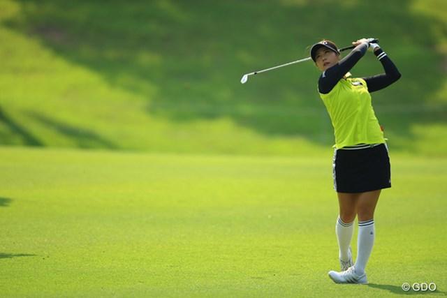 2016年 中京テレビ・ブリヂストンレディスオープン 初日 キム・ハヌル 本当に毎週毎週、安定したゴルフですよねぇ。実力がある証拠ですな。3アンダー6位タイスタート!