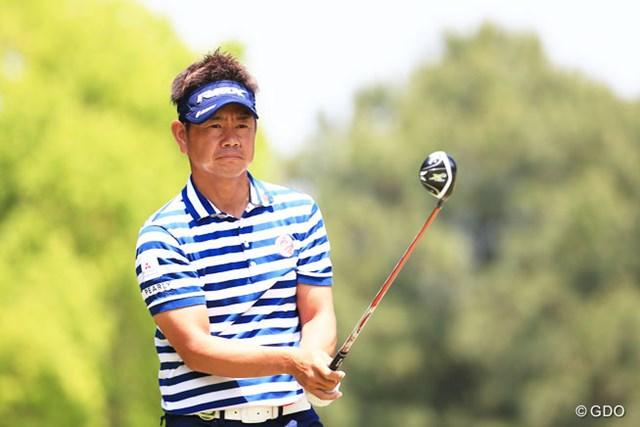 2016年 関西オープンゴルフ選手権競技 2日目 藤田寛之 今年は視界良好? 藤田寛之が上位で決勝ラウンドに駒を進めた