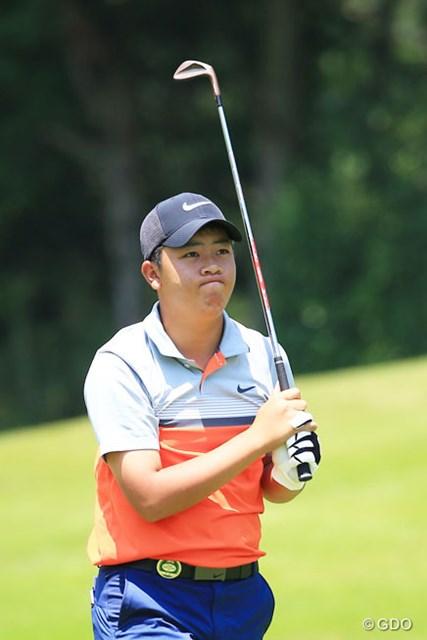 三田真弘は崩れながらも上位をキープ。ツアー史上2番目の若さで決勝進出を決めた