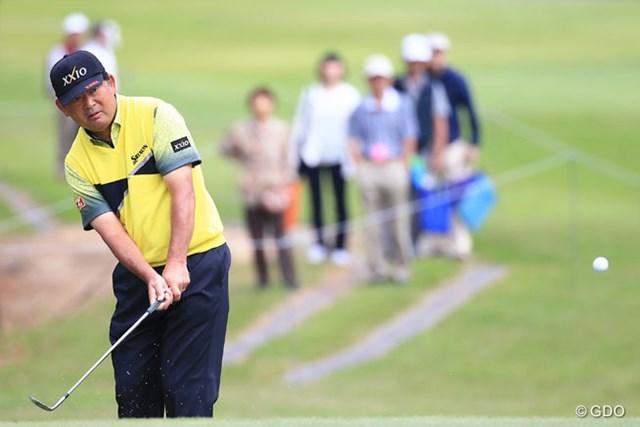 2016年 関西オープンゴルフ選手権競技 2日目 中嶋常幸 今季初復帰も予選通過にとどかなかった