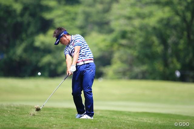 2016年 関西オープンゴルフ選手権競技 2日目 藤田寛之 やっぱり藤田プロが上位にいないとね
