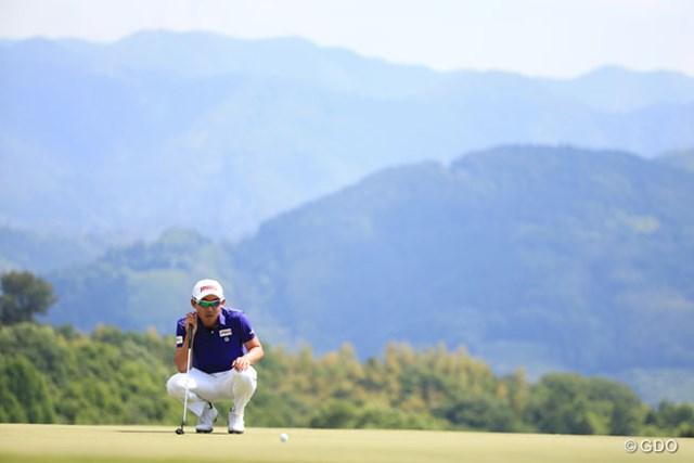 2016年 関西オープンゴルフ選手権競技 2日目 朴ジュンウォン 2位に後退です